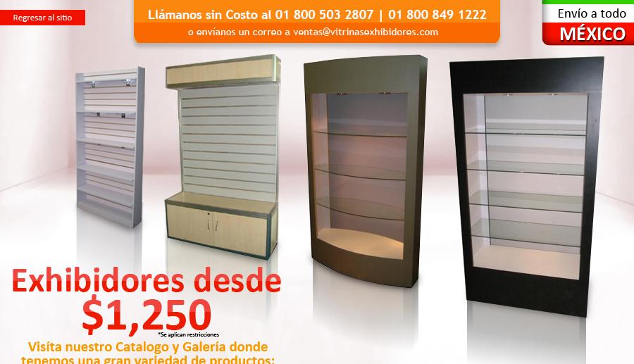 Fabricantes exhibidores exhibidores metalicos for Muebles para negocio de ropa